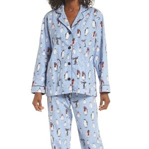 P.J. Salvage Penguin Flannel Pajamas